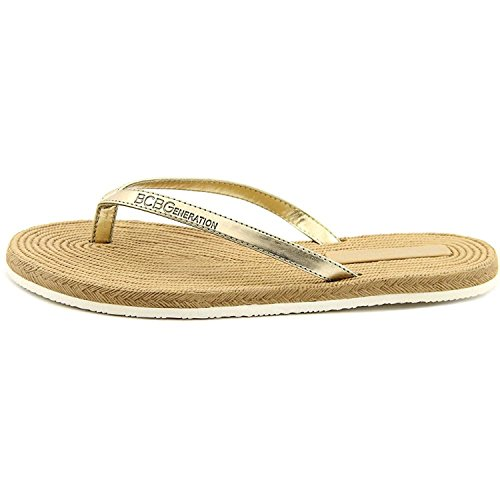 BCBGMAXAZRIA - Sandalias de vestir para mujer dorado