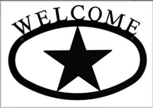 17.5 Inch Star Welcome Sign Large