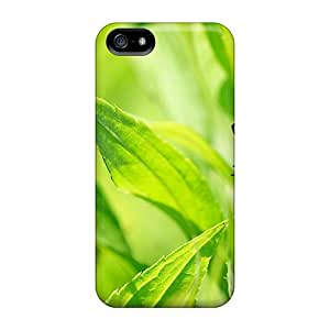 Brand New 5/5s Defender Case For Iphone (butterfly On Leave)
