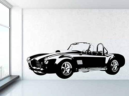 Wall Decals Classic Shelby AC Cobra 427 Ford V8 1955-67 - Vinyl Wall Art Decal Sticker - Any Colour or Size - Made in USA 1185