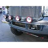 N-FAB F99350LB Driving Fog Light Mounting Bar - Gloss Black