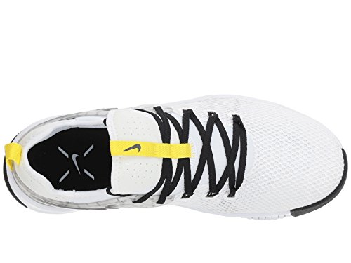 [NIKE(ナイキ)] メンズランニングシューズ?スニーカー?靴 Metcon Free JDQ White/Black/Dynamic Yellow 10.5 (28.5cm) D - Medium