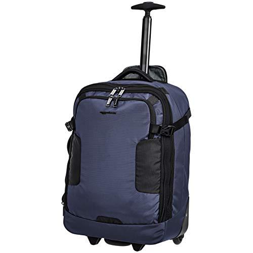 AmazonBasics Mercer Wheeled Duffel, Blue ()