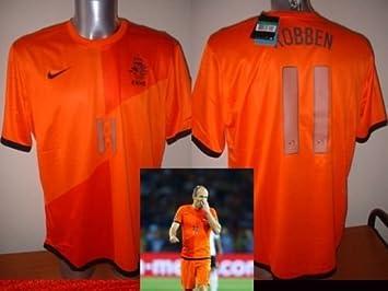 Nike Holanda Países Bajos Arjen Robben Camiseta Jersey fútbol Adulto XL Bayern Múnich Munchen: Amazon.es: Deportes y aire libre