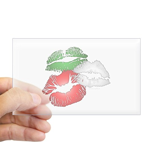 CafePress Italian Kissing Sticker Rectangle