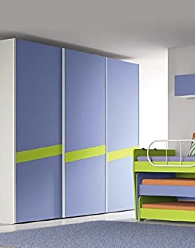 Armoire 3 portes coulissantes modèle théorème pour chambre ...