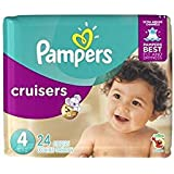 Pampers Cruisers Diapers - Size 4 - 24 ct
