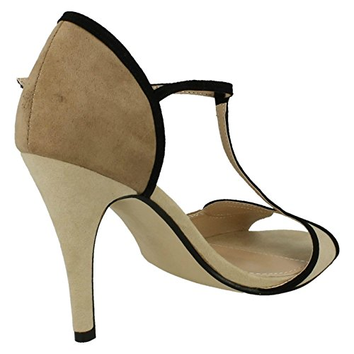 bar Anne T Anne Dames Michelle Michelle Sandales beige Noir Taupe 5YHfxBOw