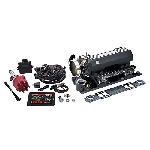 - Edelbrock 35813 Pro-Flo 4 Fuel Injection Kit w/Sequential Port 625 HP Max 35 lb/hr. Injectors Black Pro-Flo 4 Fuel Injection Kit
