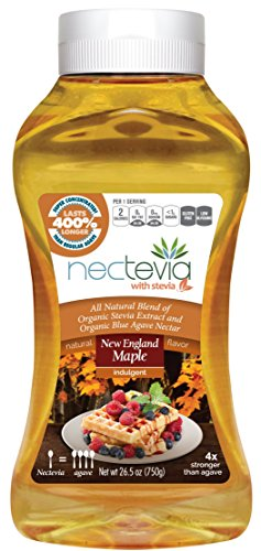 Nectevia New England Maple - Stevia Infused Agave Nectar, 1 - Is Made Nectar What Of