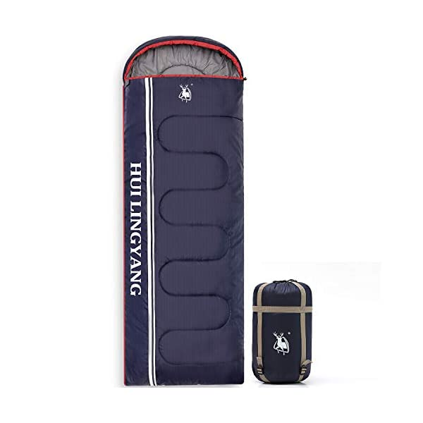 HUI LINGYANG Camping Sleeping Bag -Portable, Waterproof, Compact & Lightweight-Great for Outdoor,Traveling, Backpacking & Hiking 3
