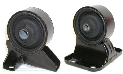 3SX Engine Motor Mount Rubber Core OEM-Replacement 3000GT - LOWER PAIR - FRONT + REAR Mounts - 3000gt Replacement
