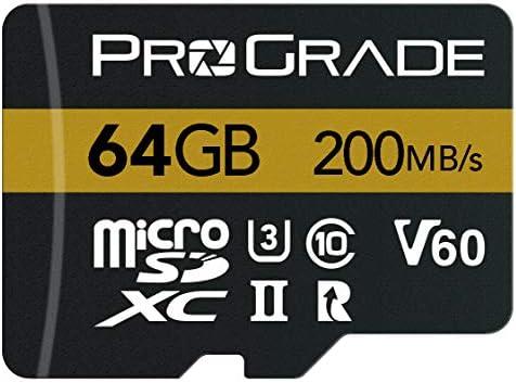 ProGrade Digital Micro SDXC UHS-II V60 Memory Card (64GB)