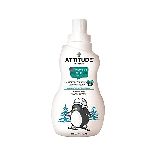 小さなものの洗濯洗剤ナシ果汁35負荷の1050ミリリットル (Attitude) (x 4) - Attitude Little Ones Laundry Detergent Pear Nectar 35 Loads 1050ml (Pack of 4) [並行輸入品] B01LYLRQGX