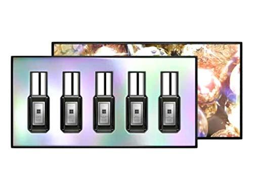 Jo Malone Cologne Intense Collection- Tuberose Angelica, Jasmine Sambac & Marigold, Velvet Rose & Oud, Myrrh & Tonka and Oud & Bergamot. Mini Travel Size 9ml/ .3oz each. ()