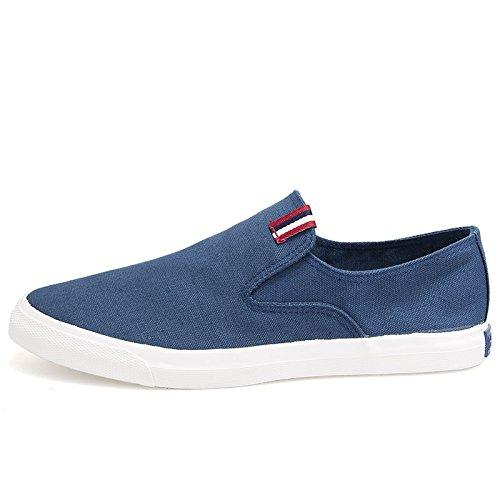 Schuhe, schuhe, schuhe, schuhe  männer farbe leinwand schuhe männer zu hause ist männer - slipper,blau,43
