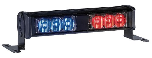 Dl Hd Dash/Deck Light, LED, Rd/Blu, 7-1/8 W ()