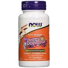 NOW Foods - Extra Strength BerryDophilus 10 Billion - 50 Chewable Tablets