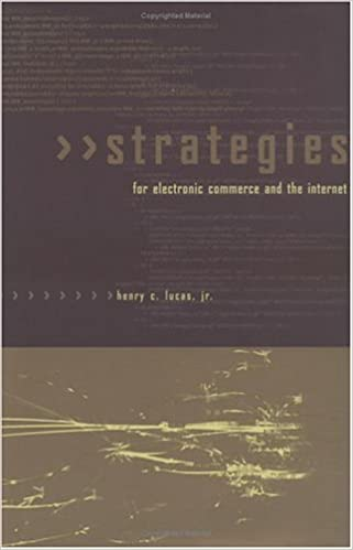 Strategies for Electronic Commerce and the Internet (MIT