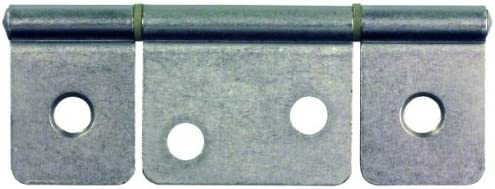 picture of JR Products 70635 Non-Mortise Hinge » Satin Nickel