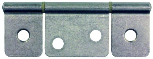 JR Products 70635 Non-Mortise Hinge - Satin Nickel,jr products