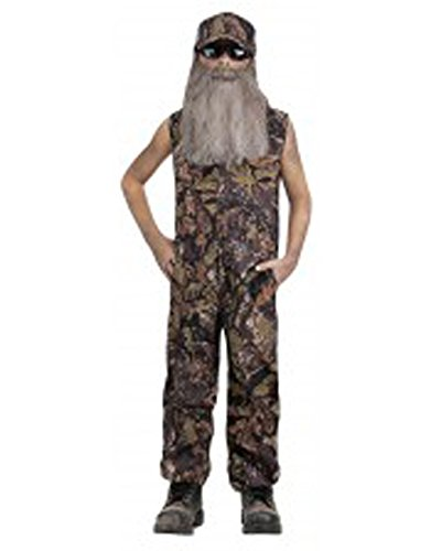 Duck Hunter Costumes (American Redneck Duck Hunter Child Costume Duck Dynasty (Large))