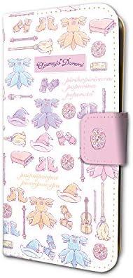 おジャ魔女どれみ 01 カラーデザイン(グラフアート) 手帳型スマホケース(iPhone6/6s/7/8兼用)