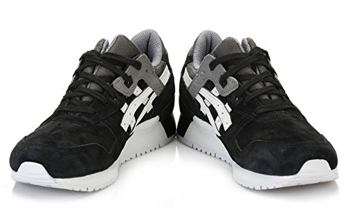 Black III 5 Shoes 12 Running Trainers Leather ASICS Lyte Mens Gel qwFH8H
