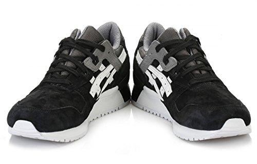 Leather III Running 5 Trainers Mens 12 ASICS Shoes Black Gel Lyte xPwE4q7I7