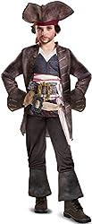 Disguise POTC5 Captain Jack Sparrow Deluxe Costume