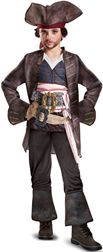 Disguise POTC5 Captain Jack Sparrow Deluxe Costume