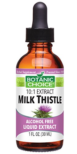 Botanic Choice Liquid Extract, Milk Thistle, 1-Fluid Ounce (Pack of 2)