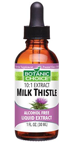 Thistle 1 Ounce Liquid - Botanic Choice Liquid Extract, Milk Thistle, 1-Fluid Ounce (Pack of 2)