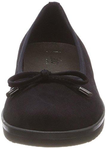 S 86 s Atlantik para Mujer Azul Comfort Gabor Shoes Gr Sport Bailarinas wPZFq8xBn7