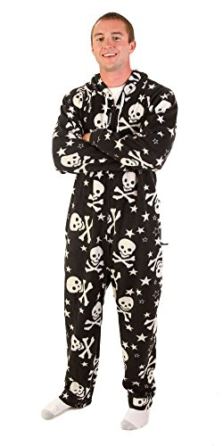 - Forever Lazy Adult Onesie - Numb Skulls - XXS