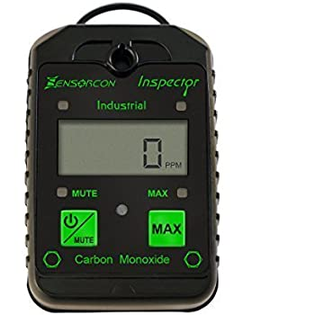 Tough, Waterproof, USA Made: Certified Intrinsically Safe Carbon Monoxide Detector & CO Meter (CO Inspector Industrial by Sensorcon)