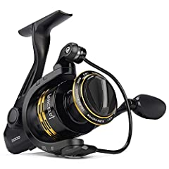 The amazing new Lancelot spin fishing reels are the perfect combination of performance and value. True Affordable Innovation with features and performance of reels costing twice as much.  The KastKing Lancelot spinning reel starts with a ligh...