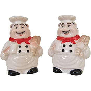 This Item Italian Chef Salt And Pepper Shaker Set By Chef Decor