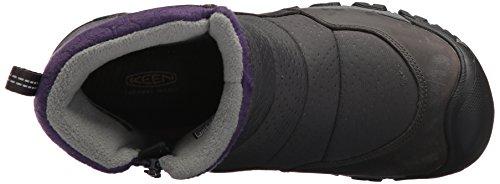 Pictures of KEEN Women's Hoodoo iii Low Zip- 1017735 Earl Grey/Purple Plumeria 2