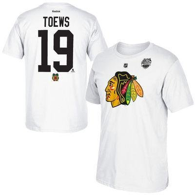 (Outerstuff Jonathan Toews Chicago Blackhawks NHL Youth 2016 Stadium Series Player T-Shirt (Youth Small 8))