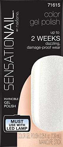 Sensationail Color Gel Polish, Wedding Pearl, .25 fl oz