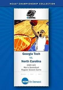 1989 ACC Men's Basketball Regular Season Game - Georgia Tech vs. North Carolina