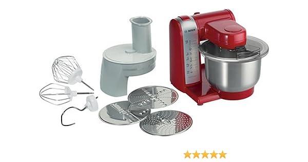 Bosch MUM46R1, Rojo - Robot de cocina: Amazon.es: Hogar