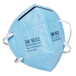 3M 颗粒物防护口罩 头戴式9032 5只/包