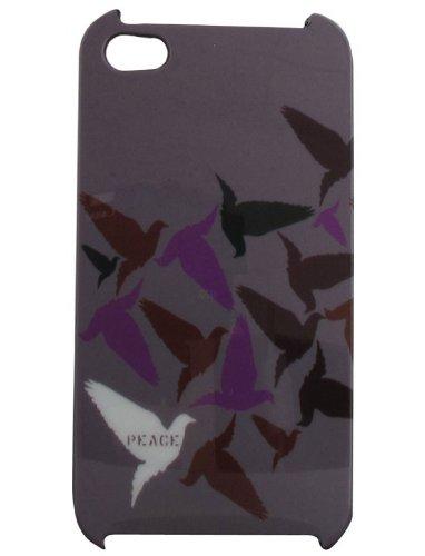 Energy EN10522 Coque vinyl sérigraphiée pour iPhone 4 Camouflage rose