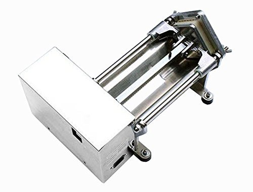 Li Bai Electric French Fry Cutter Commercial Potato Slicer Vegetable Chopper Fries Chip Maker for Tornado Potatoes Making (Auto) 3 sizes of replaceable blades DHL Shipping by Li Bai (Image #3)