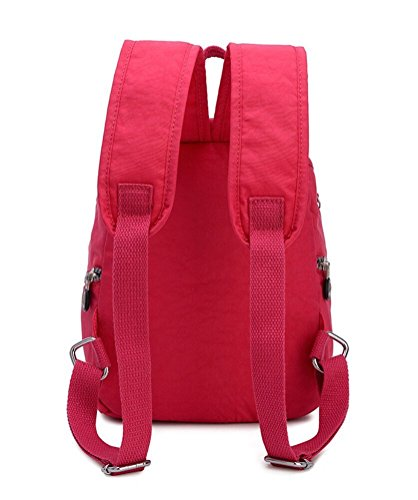Bag Bag Pink Travel Girls Shoulder Backpack Small Casual Nylon Waterproof Plants Women Handbag Estwell Daypack wxvOz18qq