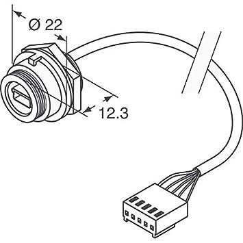 Amazon Com Cable Ip68 B Mini Usb 5way Crimp Pack Of 1 Home