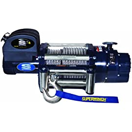 Superwinch 1618200 Talon 18.0, 12 VDC winch, 18,000 lb/8,165 kg capacity with roller fairlead