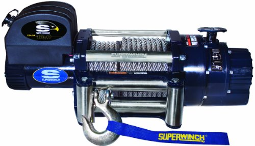 - Superwinch 1618200 Talon 18.0, 12 VDC winch, 18,000 lb/8,165 kg capacity with roller fairlead